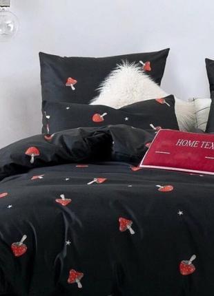 🔥распродажа🔥 полуторный комплект постельного белья с грибочкам...