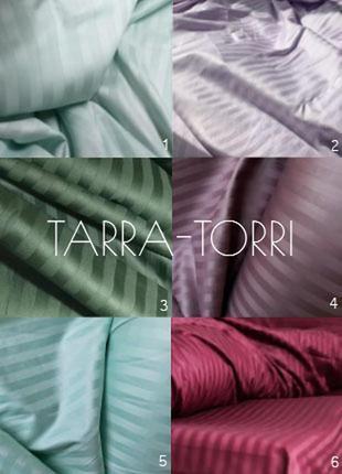 Комплект постельного белья из страйп сатина, много вариантов, ...