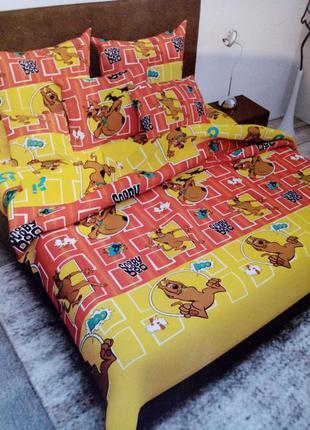 Детский комплект постельного белья, 100% хлопок
