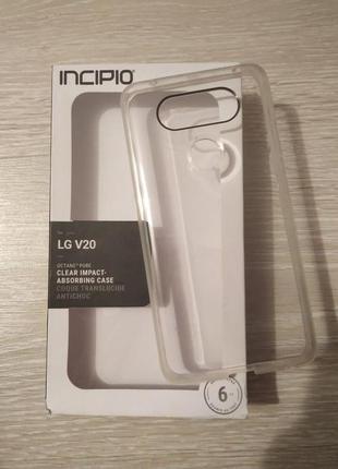 Чехол , Бампер LG V20 Прозрачный