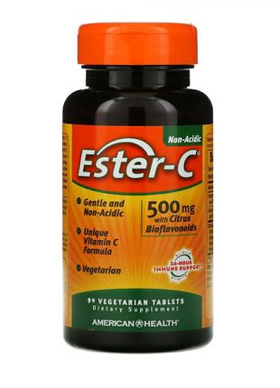 Эстер C-500 с биофлавоноидами 500 мг 90, 120 и 225 таблеток