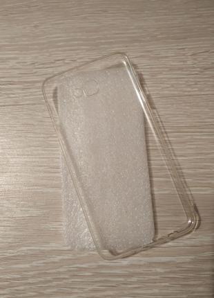 Чехол , Бампер   Samsung Galaxy J7 Prime Прозрачный