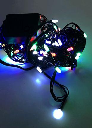 Гирлянда-нить (String-Lights) внутренняя разноцветная