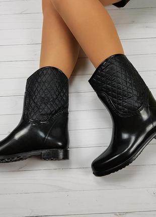 Полусапожки ботинки непромокаемые