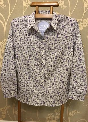 Нереально красивая и стильная брендовая рубашка.