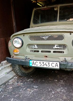 УАЗ 469 командир.