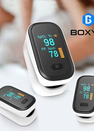 Пульсоксиметр Оксиметр Boxym SpO2 Уровень кислорода в крови BOXYM