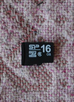 Нерабочая MicroSD 16Gb.
