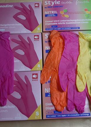 Перчатки нитриловые, латексные и виниловые от 180 грн