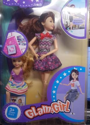 Кукла с набором новая