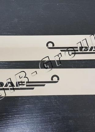 Накладки на низ двери Daf XF 95-105