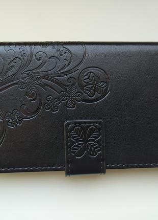 чехол книжка с отсеком для банковских карт xiaomi redmi note 4 4x