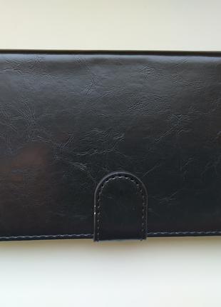 чехол книжка с отсеком для банковских карт xiaomi redmi note 9