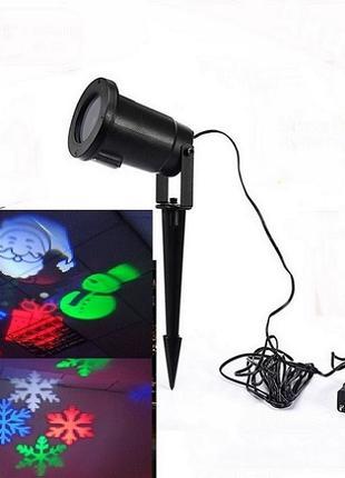 Диско LASER лазерный новогодний  проектор на дом