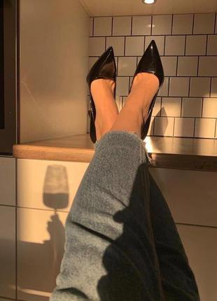 Туфли лодочки, туфли на каблуке , шпилька