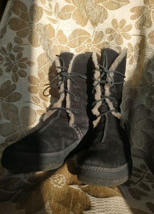 Женские ботинки от бренда Clarks