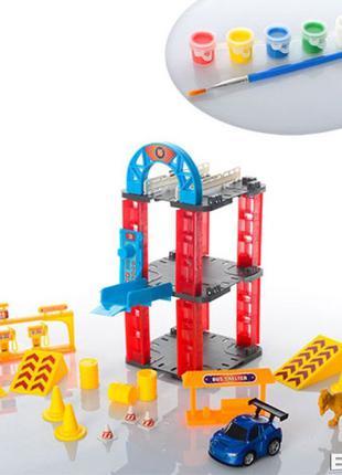 Трек 8899-96 Динозавр машинка+ трансформер в подарок