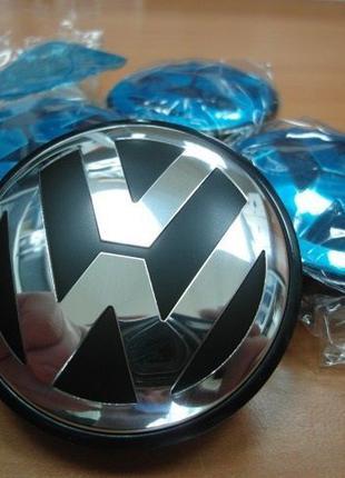 Колпачки Фольксваген,Volkswagen VW 55,56,58,63,65,70,76мм на диск