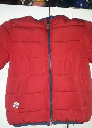 Куртка теплая зима