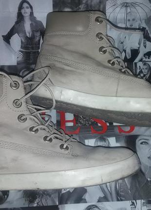Ботинки кросы кожа р.38