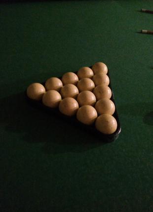 Срочно продам бильярдный стол РБ Рута Люкс 11 футов (комплект)