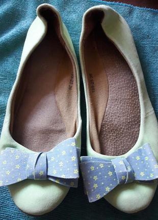 Бплетки туфли текстиль