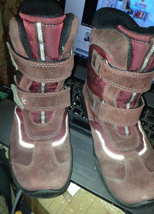 Термо ботинки ecco р. 33