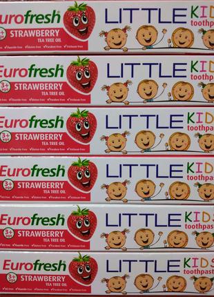 Детская зубная паста Little Kids 50 мл Фармаси