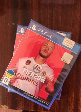FIFA 20 новий, запакований диск, для PlayStation 4