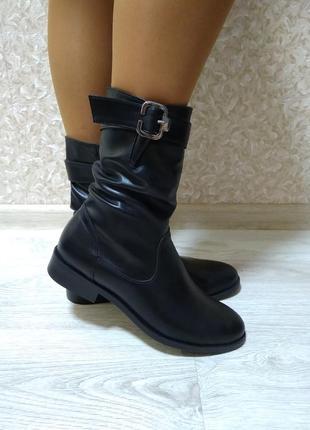 Ботинки - натуральная кожа!