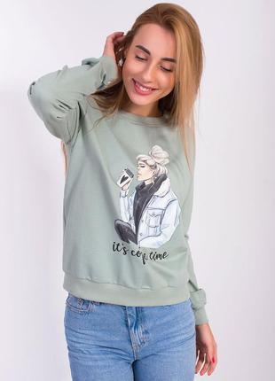 Джемперы свитшоты женские