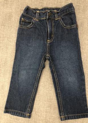 Джинсы Джинсовые штаны Carters на 18 месяцев 1,5 года 80 см