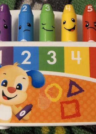 Интерактивная игрушка Fisher-Price Умные карандашики на русско...