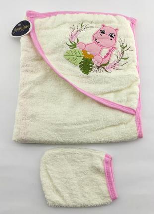 Детское полотенце конверт турция для новорожденного подарок но...