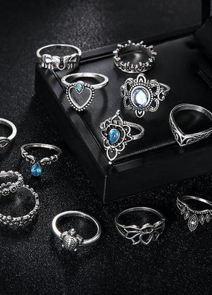 Кольца на фаланги женские фаланговые набор