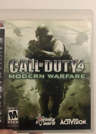 Call of duty modern warfare original ps3
