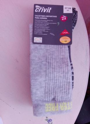 Термо носки темоноски для спорта и на каждый день от crivit 2 ...