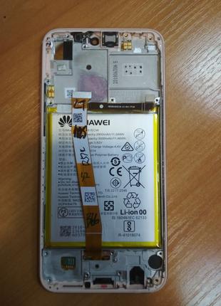 Huawei P20 Lite pink, корпус рамка