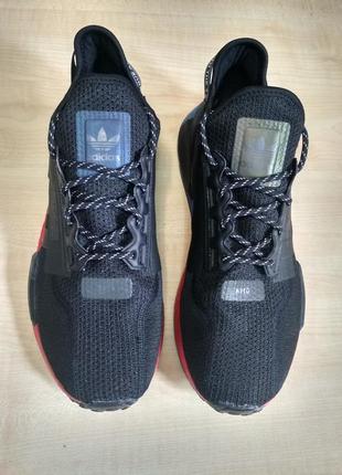 Кроссовки adidas nmd r1 v2 black fv9023, оригинал