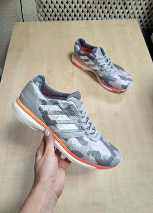 Кроссовки для бега  adidas adizero adios 4 ef1457 оригинал 2019