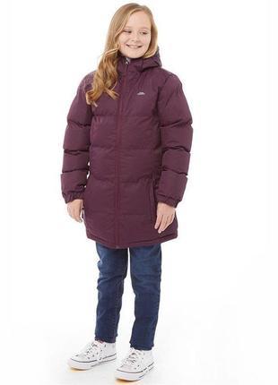 Куртка пальто зимняя на девочку trespass англия оригинал