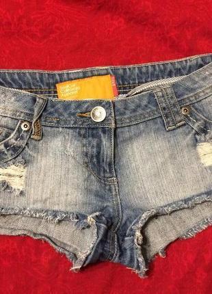 Soulcal california apparel шорты джинсовые короткие