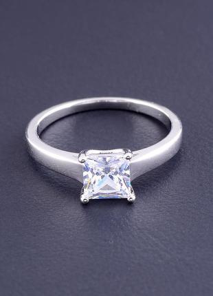 Кольцо 'xuping' фианит (родий) 0807440