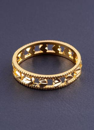 Кольцо 'xuping' (позолота 18к) 0807460