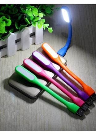 Лампа настольная, светильник светодиодный, фонарик USB