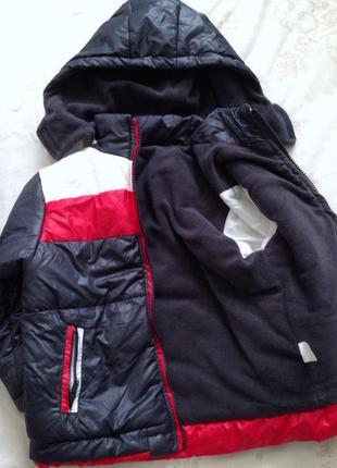 Зимняя теплая куртка на 3-4 года турция