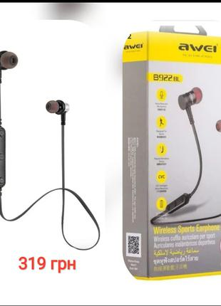 Bluetooth наушники с микрофоном AWEI B930BL 🎶🎧