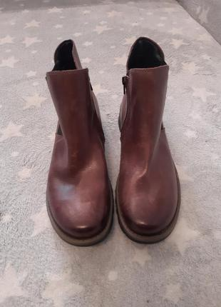 Чоботи сапоги ботинки шкіра josef seibel