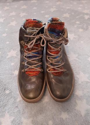 Чоботи сапоги ботинки josef seibel шкіра