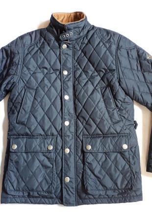 Стеганная брендовая куртка демисезонная jonas nielsen stockhol...